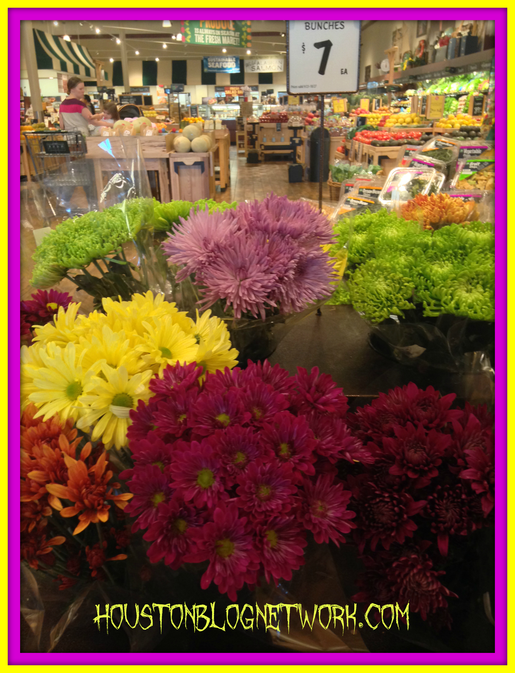 Flowers at The Fresh Market
